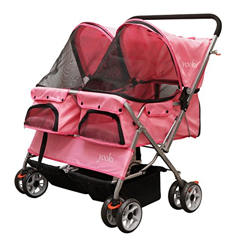 YOOKI Double Pet Stroller