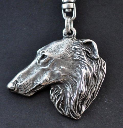 Borzoi, Russian Wolfhound, Dog Keyring, Keychain, Limited Edition, Artdog