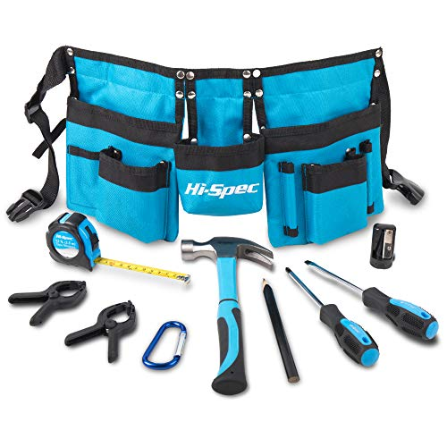 Hi-Spec 12 Piece Young Builder's Tool Set