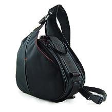 New First2savvv BDV1501 Black professional hardwearing waterproof DSLR digital camera / Lens / Tripod shoulder carrying case bag for Nikon D7000 D90 D5100 D5000 D3100 D3000 D700 D300s D3X D3S D800 D800E D3200 D4 D600 D5200 COOLPIX P7100 COOLPIX P510 COOLPIX L310 COOLPIX L810 COOLPIX P520 COOLPIX L820 Film SLR Camera F6 D7100 COOLPIX L320 with LENS Cleaning Cloth