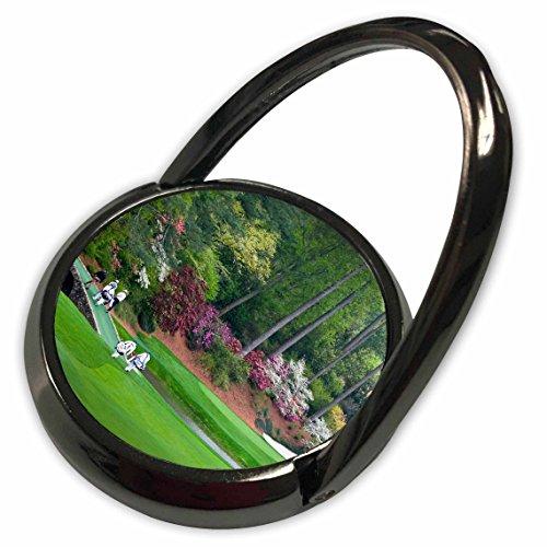 3dRose Angel Wings Designs Golf - Masters - Amen Corner in Augusta Georgia - Golfers on Bridge - Phone Ring (phr_53840_1)