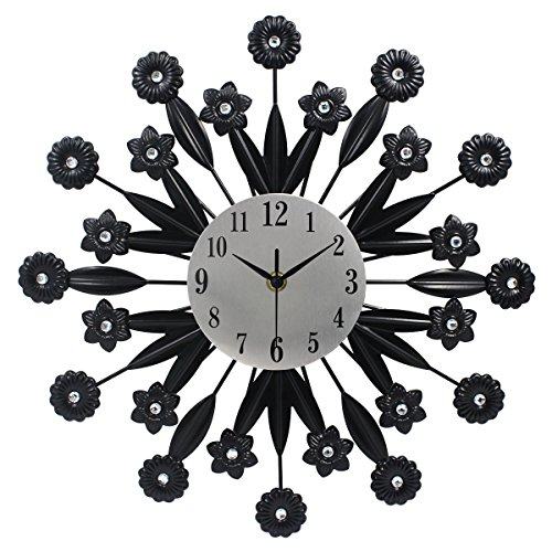 Hippih Metal Decorative Clock Decor