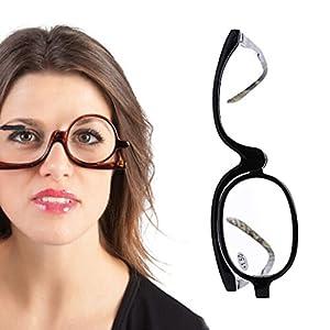 Amrka Women Cosmetic Glasses Making Up Reading Glasses Presbyopic Eyeglass +1.5~+4.0 (+2.0)