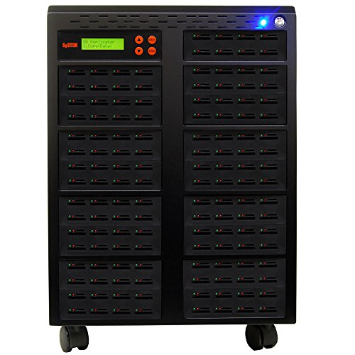 SySTOR 1 to 135 Multiple SD/microSD Drive Memory Card Reader Duplicator / Copier (SD-135)