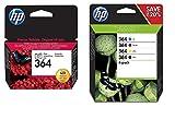 HP 364 Black Cyan Magenta Yellow & Photo ink cartridges
