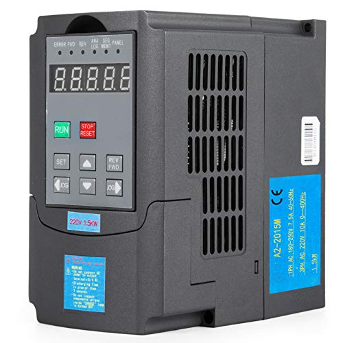 Mophorn VFD Drive VFD Inverter 220V 1.5KW 2HP Frequency Drive Inverter Professional Variable Frequency Drive VFD for Spindle Motor Speed Control (1.5KW - Variable Drive Controller Frequency