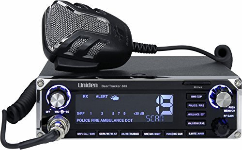 BearTracker 885 Hybrid CB Radio/Digital Scanner with BearTracker Warning System