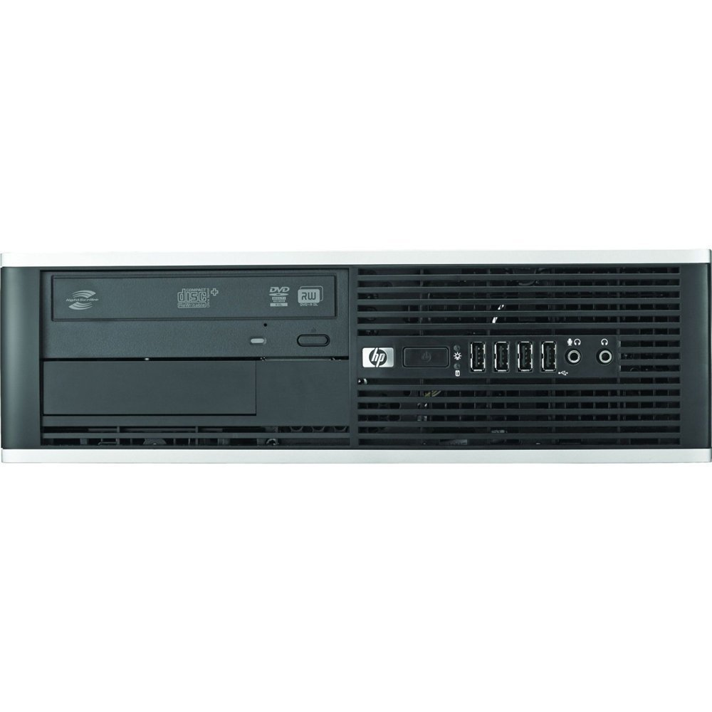 HP Compaq 6200 Pro SFF Desktop PC - Intel Core i3-2100 3.1GHz 8GB 250GB DVD Windows 10 Pro (Renewed)