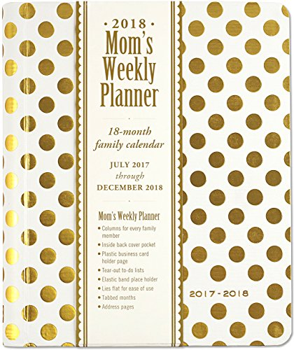 2018 Gold Dots Mom's Weekly Planner (18-Month Family Calendar) PDF