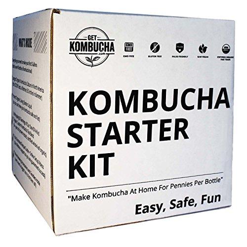 Kombucha Brewing Starter Kit: 6.5