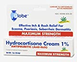 Hydrocortisone Maximum Strength CREAM 1% with ALOE, USP 1oz