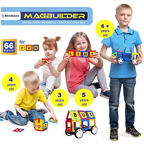 Review Magbuilder 66 pcs Magnetic