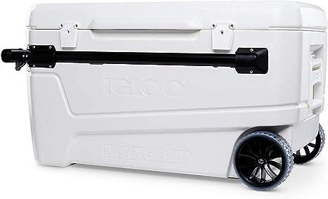 Igloo Glide 110 Nevera portátil con Ruedas, 104 litros
