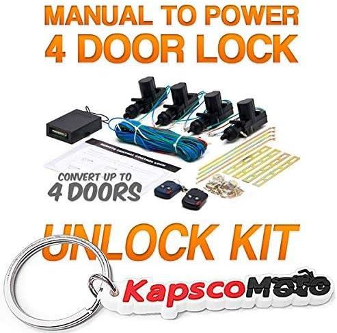 Keyless Door Unlock Kit For GMC Savana Sierra Biltek 2x Door Car ...