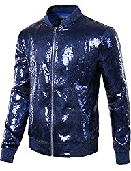 Zip up Sequin Jacket
