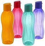 Tupperware Eco Sports Water Bottle Flip Top 1 Ltr