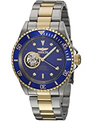 Invicta Mens Pro Diver Automatic Stainless Steel Diving Watch, Color:Two Tone (Model: 21719)
