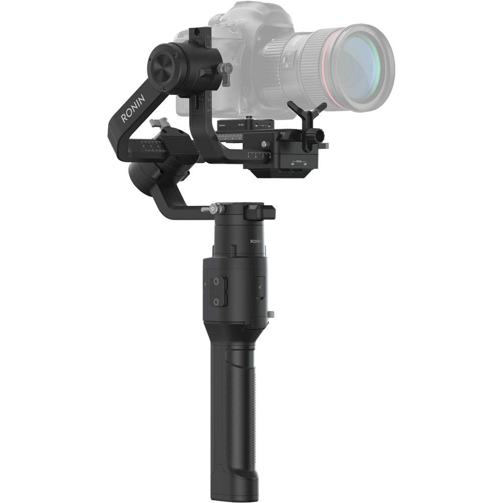 DJI Ronin-S Essentials Kit Handheld 3-Axis Gimbal Stabilizer with All-in-one Control for DSLR and Mirrorless Cameras Starters Bundle - CP.RN.00000033.01 by DJI (Image #2)