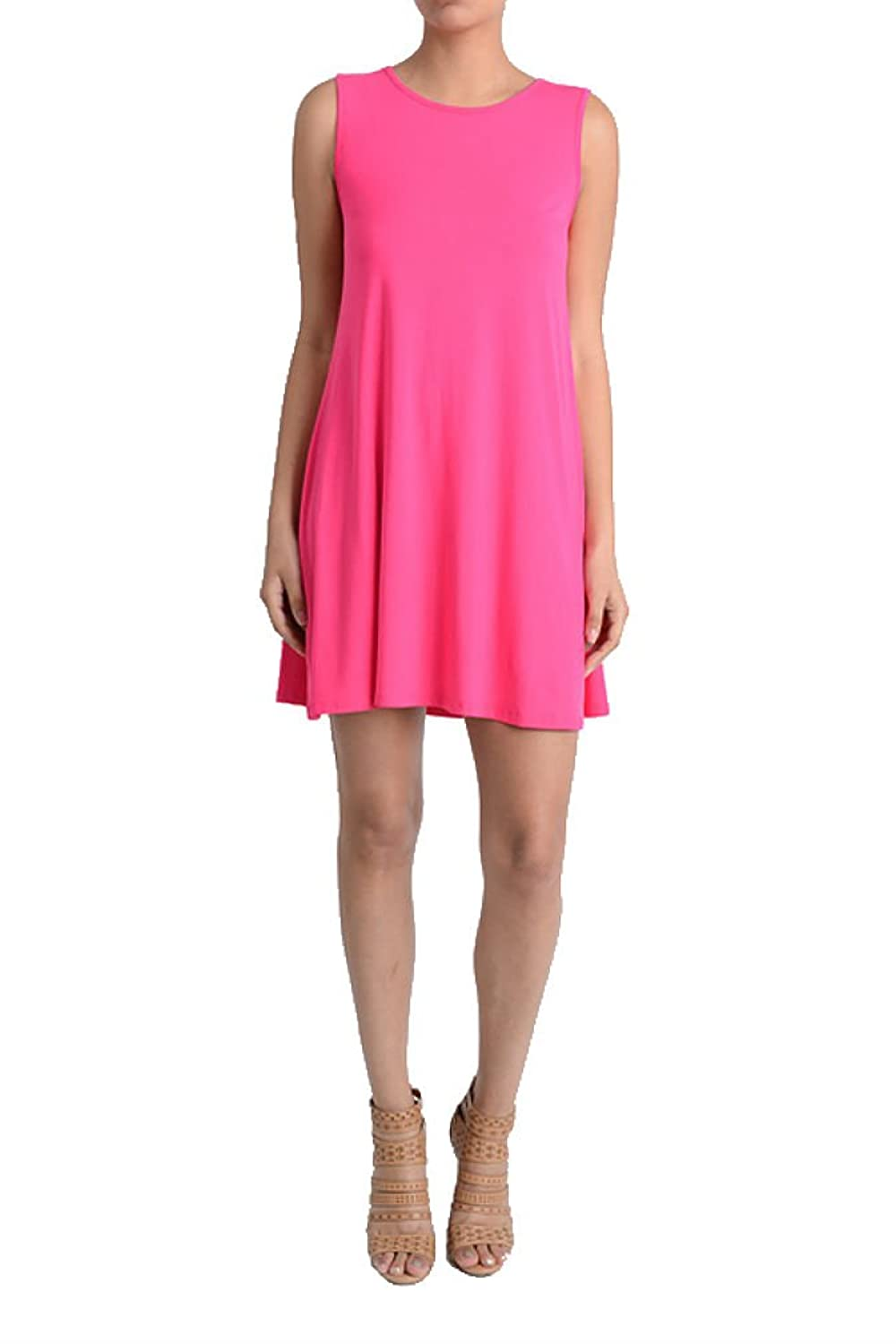 BEAUTIFUL AND TRENDY ARYEH SOLID COLOR DRESS