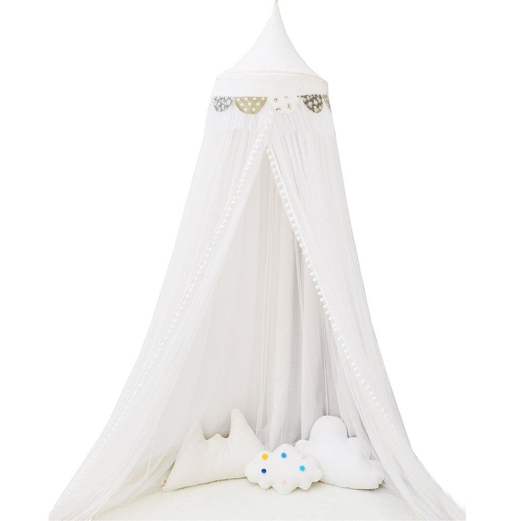 アンチモスキートテント、子供用ベッド蚊帳ホーム子供用ベビーベッドシーリングモスキートネットペイアウトおもちゃルーム読書コーナー50 * 300CM (色 : B) B07DVLRRK7 B