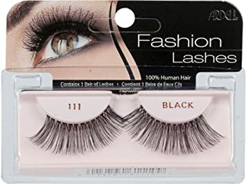 877ce9e00a2 Amazon.com : Ardell Fashion Lashes 111 Black : Fake Eyelashes And Adhesives  : Beauty