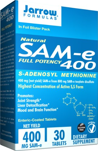 Jarrow Formulas SAM-e, 400 mg, 30 comte