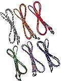 Kenkio 6 Pieces Eyeglass Strap Eyewear Strap