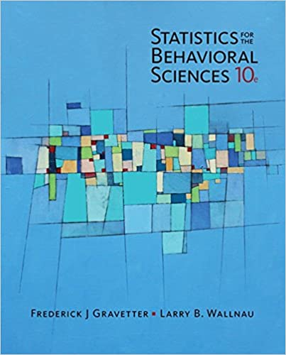 Amazon com: Statistics for the Behavioral Sciences