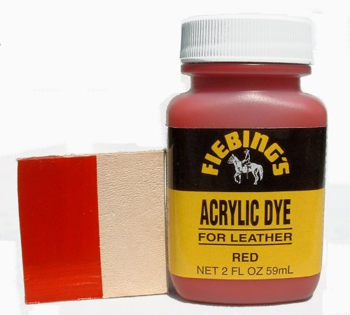 Using Acrylic Paint To Dye Leather