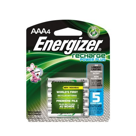 Accu Energizer AAA Rechargeable Battery 4Ct(12 Pack)