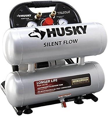 Amazon.com: Husky 4610A 4.6 gal. Portable Electric Air Compressor: Home Improvement