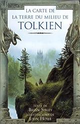 La carte de la terre du milieu de Tolkien