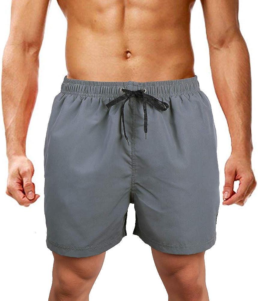 LK B.Hose Pantaloncini da Bagno da Uomo Pantaloncini da Bagno Pantaloncini da Snowboard Asciugatura Rapida Multicolore