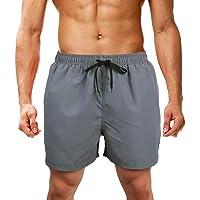 LK LEKUNI Bañador Hombre Pantalones de Playa