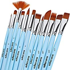 Watercolor Brushes Set 12 - by Blue Squi...