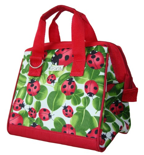 Sachi 34-029 Insulated Fashion Lunch Tote, - Lunch Bug