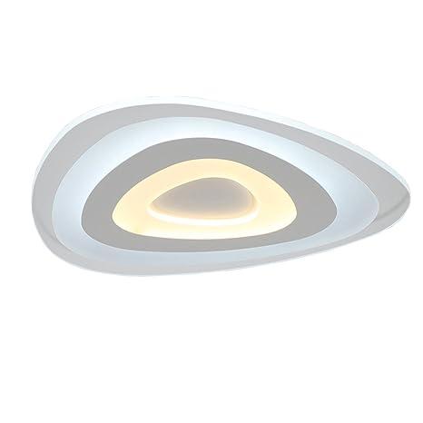 TYDXSD Super fina lámpara salón creativa lámpara de techo en forma de diámetro de lámpara de comedor cálido lámparas dormitorio minimalista ...