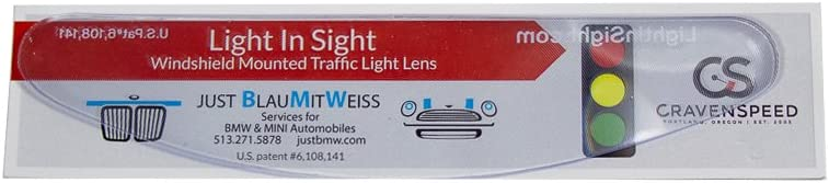 LightInSight Traffic Light Lens Compatible with MINI Cooper
