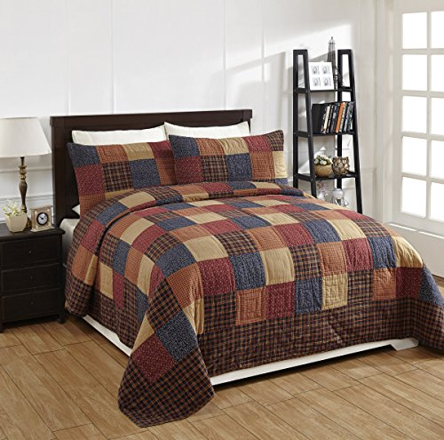 olivias heartland king quilts - 8