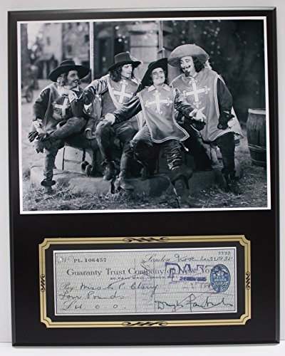 Douglas Fairbanks Actor Reproduction Signed Limited Edition Check Display (Douglas Actor Fairbanks)