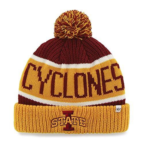 cheap for discount cb0d3 b5522 ... germany 47 brand calgary cuff beanie hat with pom pom ncaa cuffed knit  cap. 8609c