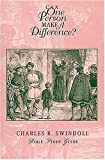 Can One Person Make a Difference?, Charles R. Swindoll, 0849985862