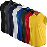 #10: Neleus Men's 3 Pack Slim Fit Workout Sport Running Sleeveless Hoodies