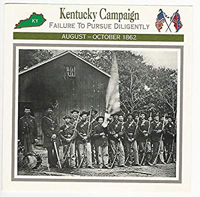 1995 Atlas, Civil War Cards, 116.02 Kentucky Campaign, 44th Indiana