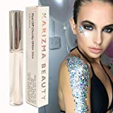 Cosmetic Glitter Glue // Peel Off Formula  KARIZMA BEAUTY  Face Chunky Glitter Glue Adhesive Body Cosmetic Makeup