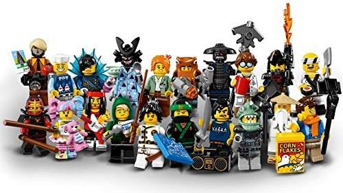 (LEGO Ninjago Movie Collectible Minifigures - Complete Set of 20 minifigures sealed (71019))