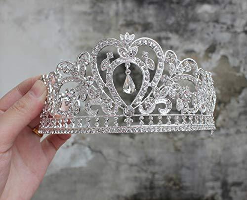 2019 Rhinestone Tiara Crown 6