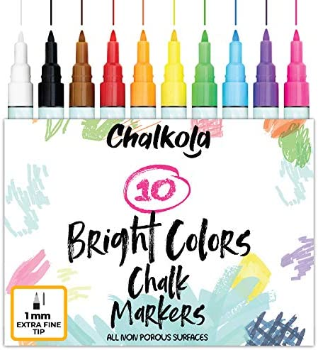 Chalkola Chalk Markers Bright 1mm product image