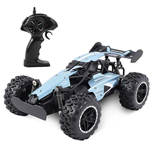 ERollDeep Remote Control Car,RC Cars Vehicles Toys,Radio Control Car with Rechargeable Battery for 20 Min Play,Great Gifts for Boys and Girls(Blue)