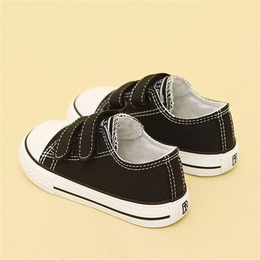 Tout-Petit Chaussures B/éb/é pour Fille Enfants Chaussures Plates Enfants Chaussures De Toile Gar/çons Filles Sneakers Blanc Mocassins Chaussures